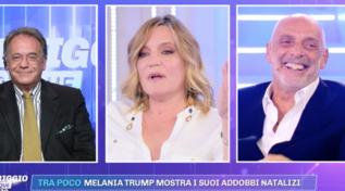 """La rivelazione di Cecchi Paone su Paolo Brosio: """"Una notte ci siamo baciati"""""""