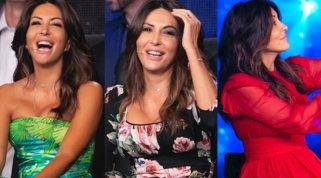 Tutti i look di Sabrina Ferilli a Tu si que vales: colore, top brand e spalle scoperte