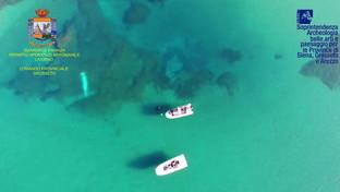 Nel mare toscano scoperto il relitto di una nave romana