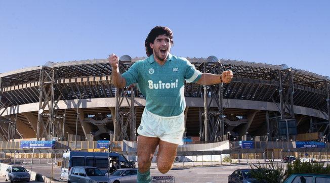 """Napoli, il San Paolo diventa """"Stadio Diego Armando Maradona"""": decisione ufficiale"""