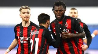 Il Milan continua la fuga con Kessie e Castillejo: Samp ko a Marassi