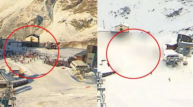 Covid, Cervinia: webcam oscurata per nascondere la coda agli impianti di sci