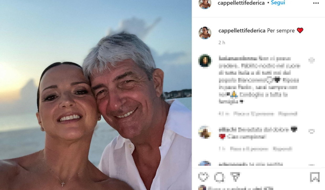 Addio a Paolo Rossi, lo straziante post della moglie Federica
