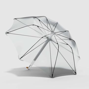 L'ombrello che filtra la pioggia e la trasforma in acqua potabile