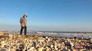 """Giulianova, a 94 anni batte il Covid e torna in riva al mare: """"Per me è vita"""""""