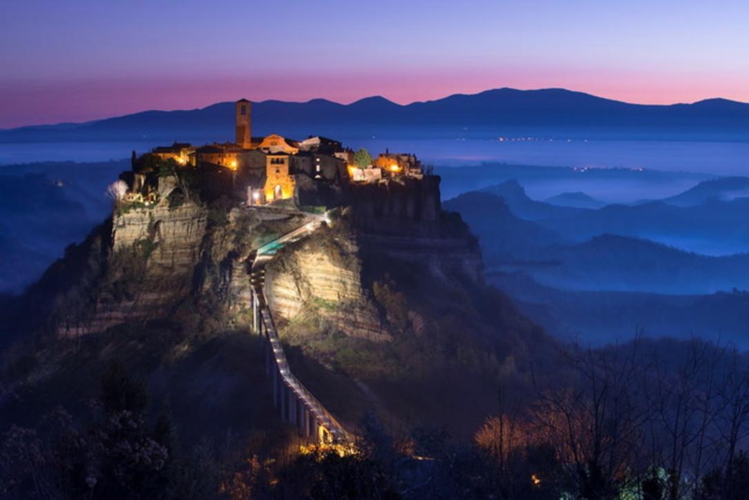 L'Italia magica dei borghi presepe