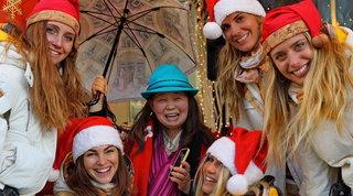 Donnavventura: da Tokyo un Natale scintillante