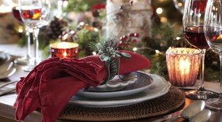 Natale: cinque stili a cui ispirarsi per una tavola bellissima