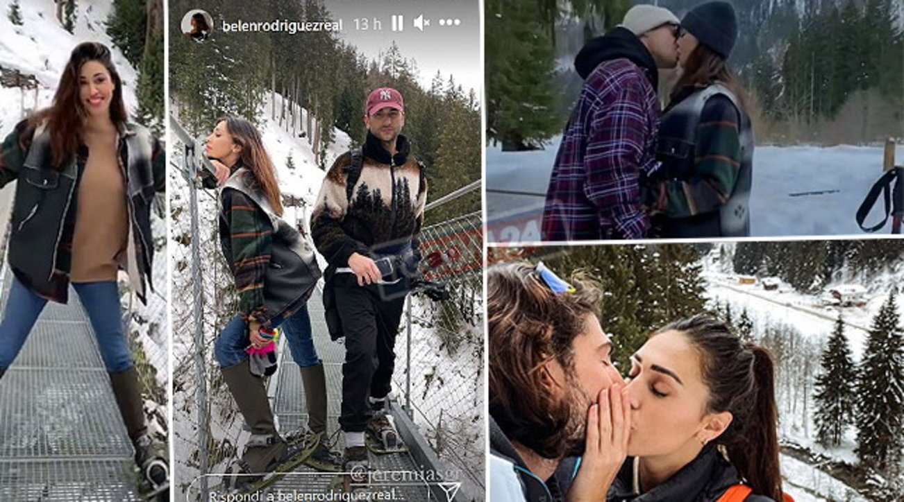 Le Rodriguez in Val di Sole, che ciaspolate d'amore!