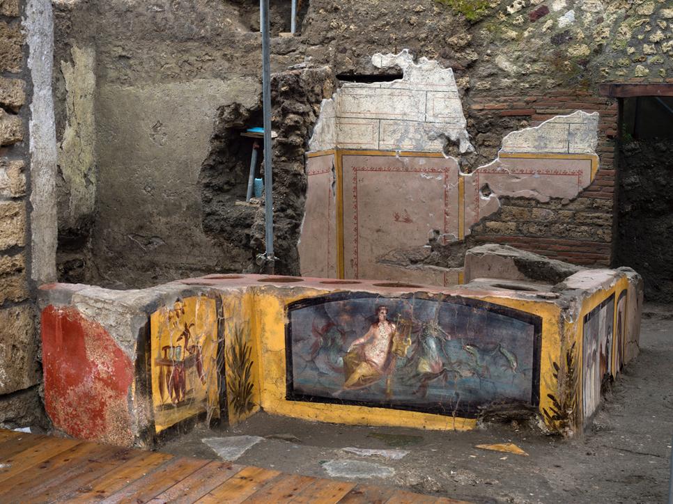 Pompei, ritrovato un Termopolio intatto