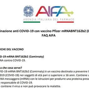 Cosa sappiamo del vaccino Pfizer-Biontech | Le linee guida e il bugiardino