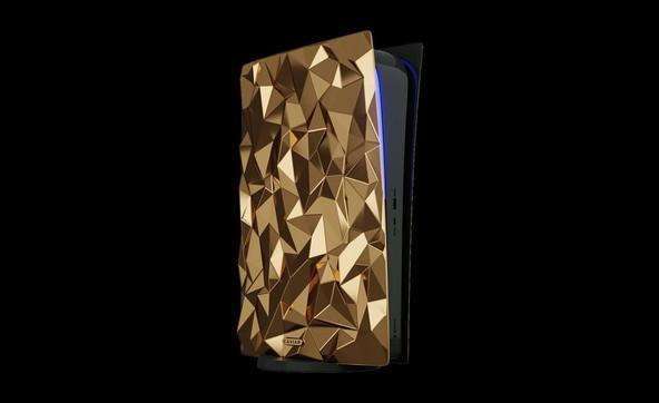 PlayStation 5: ecco la versione speciale di Caviar placcata in oro 18 carati