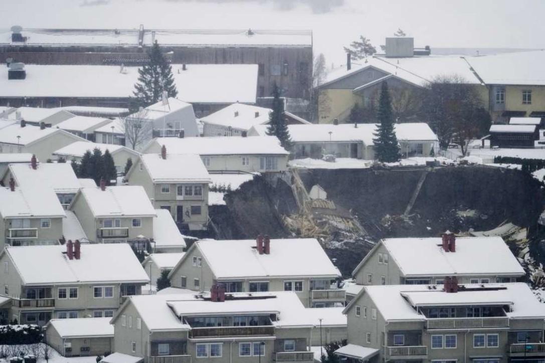 Enorme frana in Norvegia, 26 dispersi