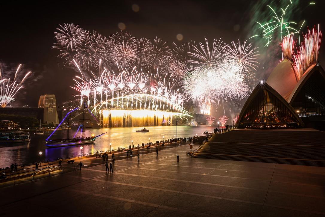 Η Αυστραλία και το Σίδνεϊ χαιρετούν το 2020