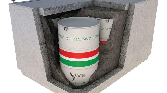 Il progetto del deposito rifiuti nucleari italiano