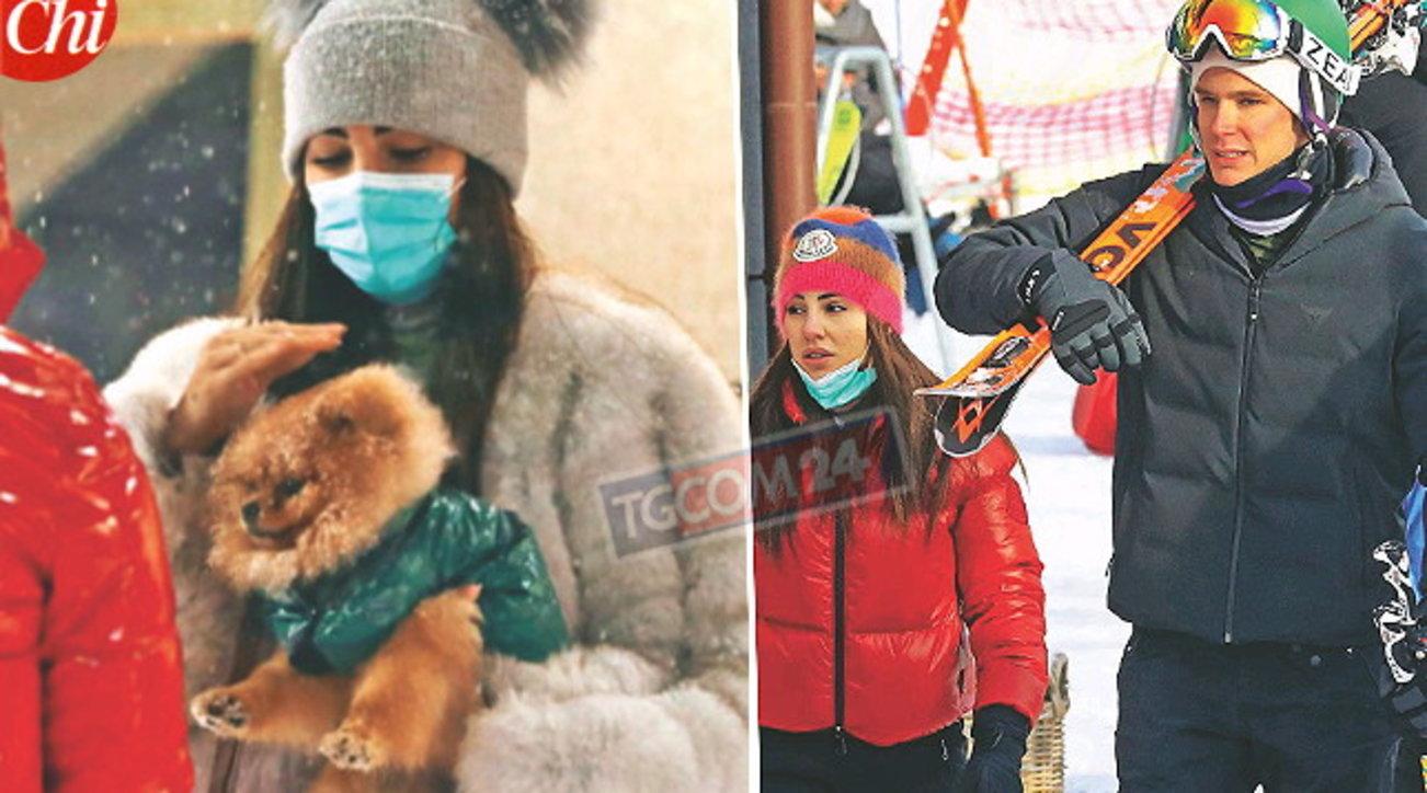 Giulia De Lellis torna in Italia: guarda l'album sulla neve con Carlo