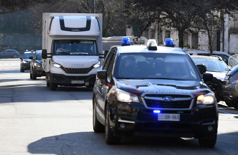 Il furgone con i vaccini Moderna è arrivato a Roma