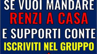 """Conte su Facebook rilancia un gruppo anti Renzi ma lo staff nega: """"Un hackeraggio"""""""