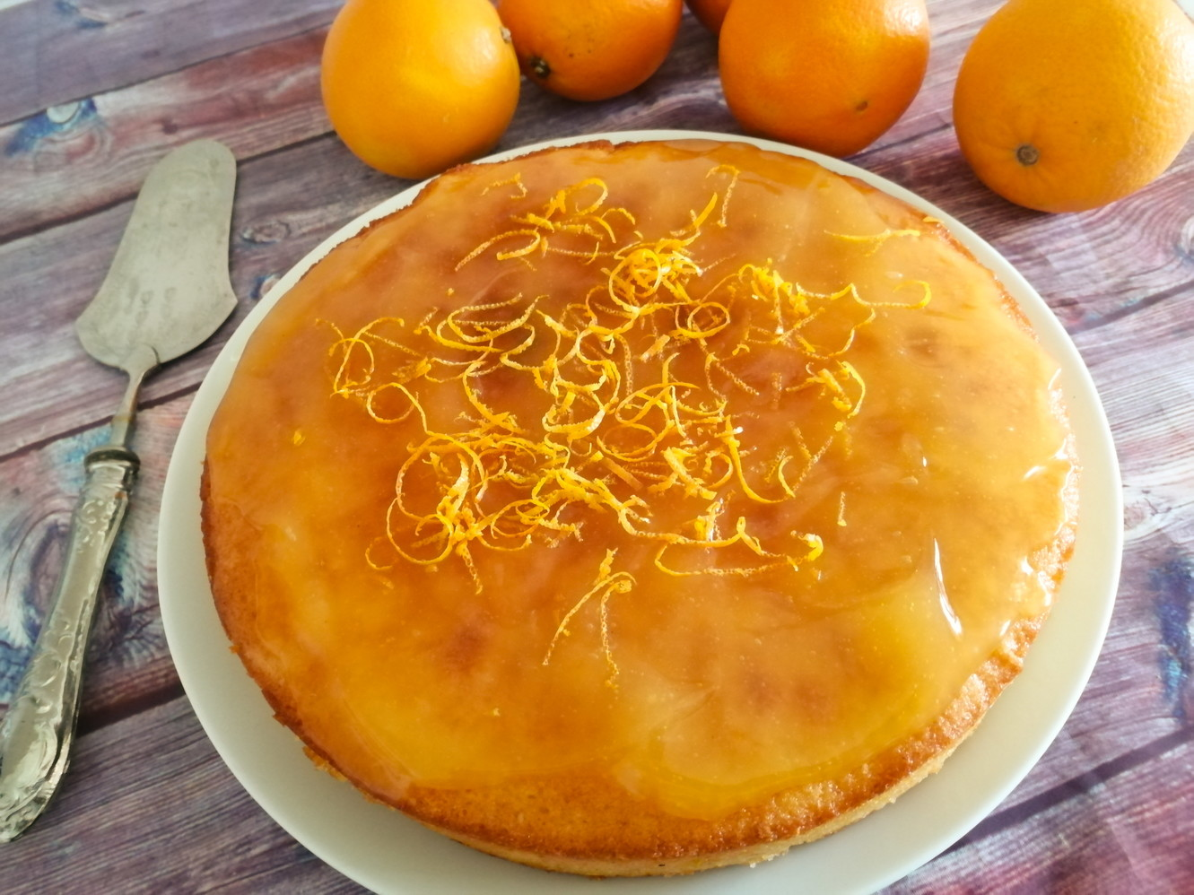 Torta all'arancia, coccola vitaminica