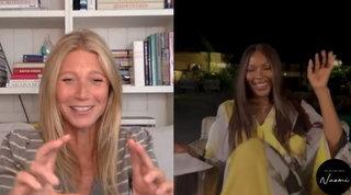 """Gwyneth Paltrow a Naomi: """"Tornerei a recitare solo se potessi scop...mi lo sceneggiatore"""""""