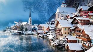 Inverno: le chiese da cartolina ai quattro angoli del mondo