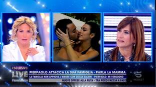"""La madre di Pierpaolo Pretelli: """"Con Giulia Salemi è andato un po' oltre"""""""