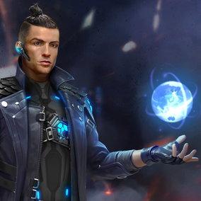 Cristiano Ronaldo diventa l'eroe di un videogioco fantascientifico