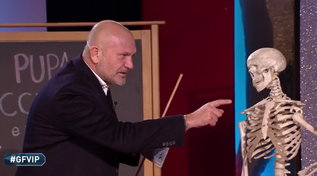 """""""GF Vip"""" Andrea Pucci testa la cultura dei concorrenti"""
