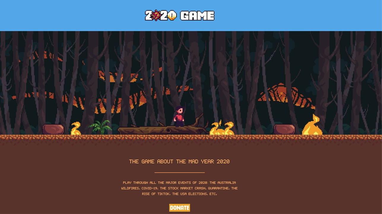2020 Game: le immagini del videogame che ci fa rivivere uno degli anni peggiori di sempre