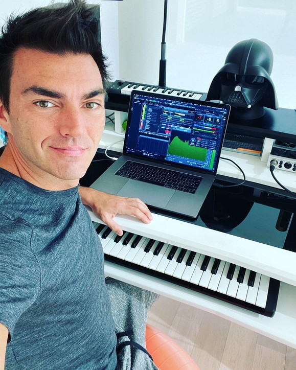 Gabry Ponte tra musica e sport non si ferma mai
