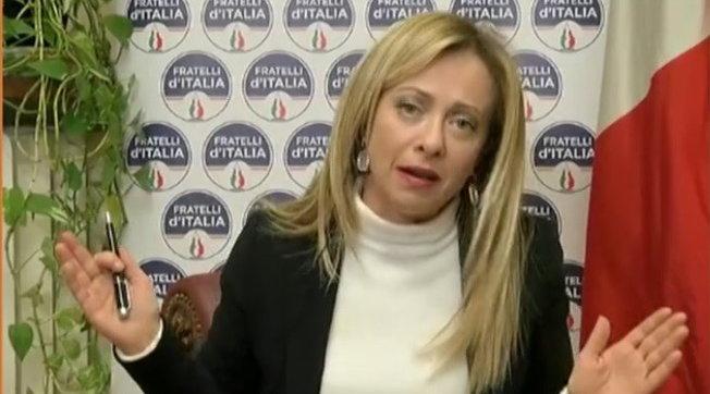 """Crisi Governo, Meloni: """"Conte non ha maggioranza assoluta, si vada al voto"""""""