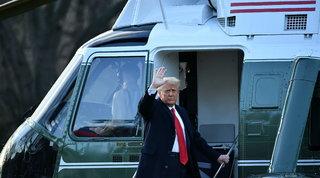 Usa, Trump e Melania lasciano la Casa Bianca su elicottero Marine One