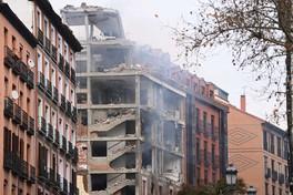 Madrid, forte esplosione in centro: semidistrutto un palazzo