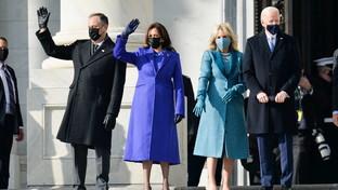 Joe Biden e Kamala Harris arrivano a Capitol Hill
