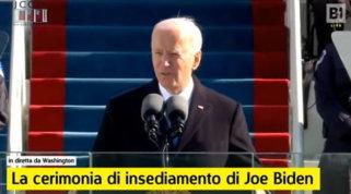 Joe Bidenha giurato: è il46esimo presidente degli Stati Uniti d'America