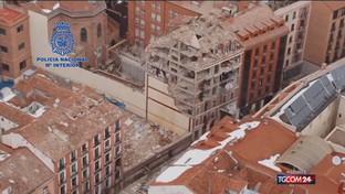 Madrid, esplosione in centro: 3 morti