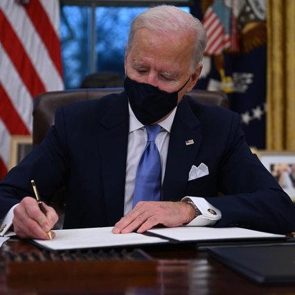 Estados Unidos de América y Biden anulan el embargo musulmán y el muro con México y detienen el oleoducto con Canadá |  Acepta el acuerdo climático de París
