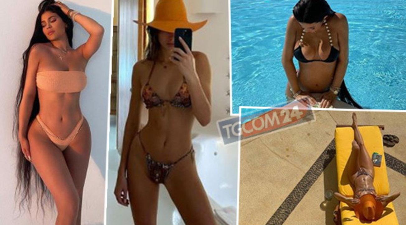 Bikini strepitoso per Kylie e Kendall Jenner