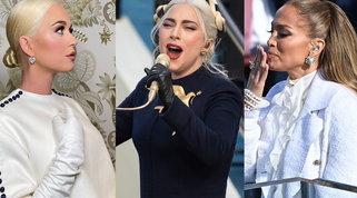 JLo, Lady Gaga, Katy Perry: i look delle star all'inaugurazione di Biden