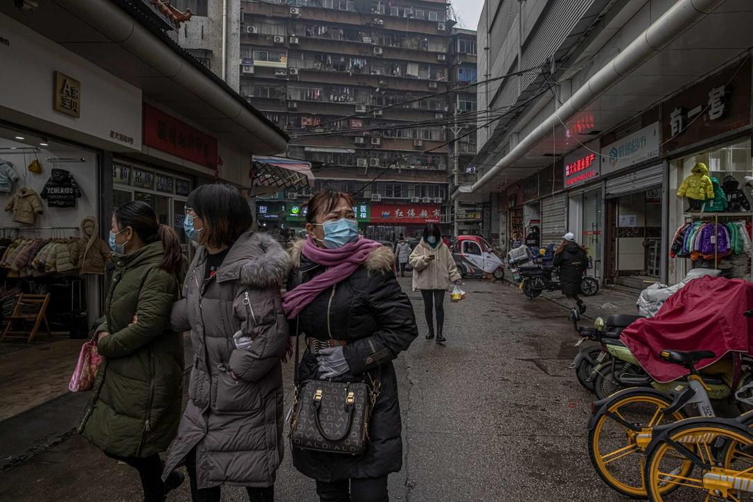 Wuhan, un anno dopo l'inizio della terribile pandemia di coronavirus