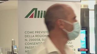 Allarme conti per Alitalia