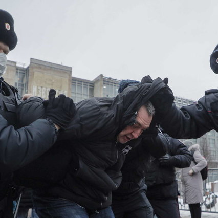 Russia, the day of the protest for Navalny: clashes with the police and arrests |  His wife Yulia also stopped