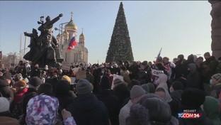 Russia, grandi proteste per Navalny: scontri e arresti