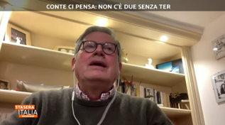 """Paolo Liguori a """"Stasera Italia"""": """"Il Pd ha già pronto un governo Franceschini-Renzi"""""""