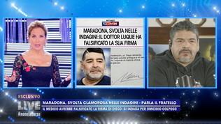"Hugo Maradona: ""Diego aveva ginocchia a pezzi, ma nessuna malattia"""
