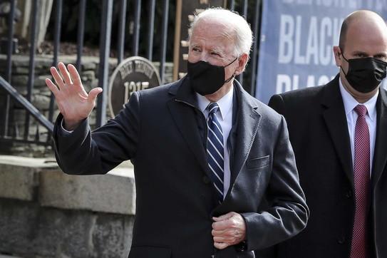 Per Biden prima messa da presidente Usa