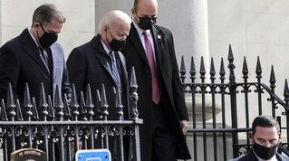 Prima messa da presidente per Biden nella chiesa di Jfk