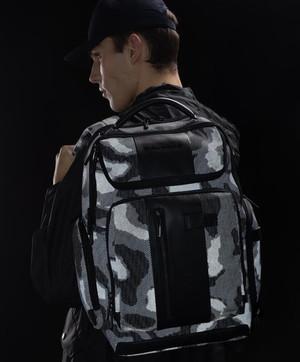 Zaini uomo FW 2021 2022: Piquadro Brief Camouflage