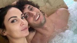Michela Quattrociocche con Giovanni è amore alle terme