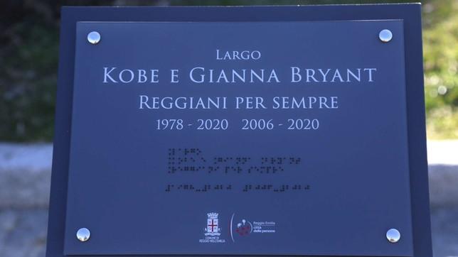 Reggio Emilia intitola una piazza a Kobe Bryant e alla figlia
